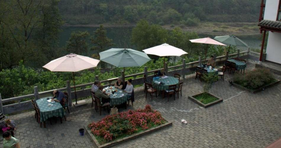 Restaurant, Li River Resort, Yangshuo, China Rundreise