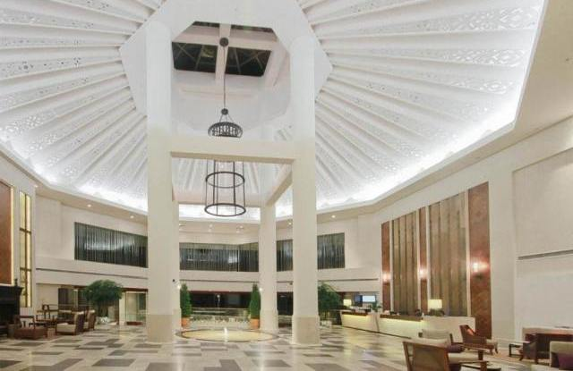 Lobby, Spring City Golf & Lake Resort, Kunming, China Rundreise