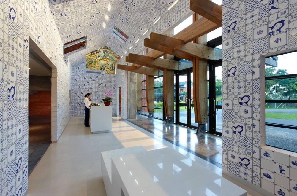 Lobby, The Place Yilan, Taiwan Reisen