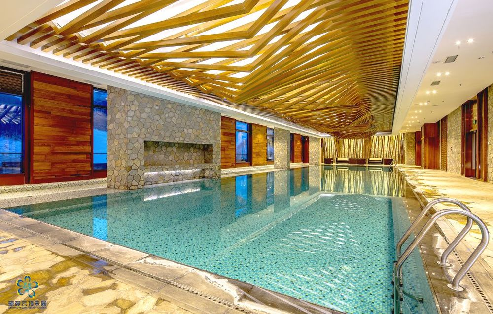 Pool, Genting Resort Hotel, Zhangjiakou, China Rundreise
