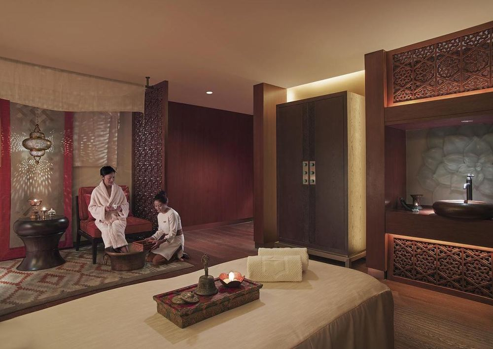 Spa, Shangri-La Hotel Lhasa, Tibet, China Rundreise