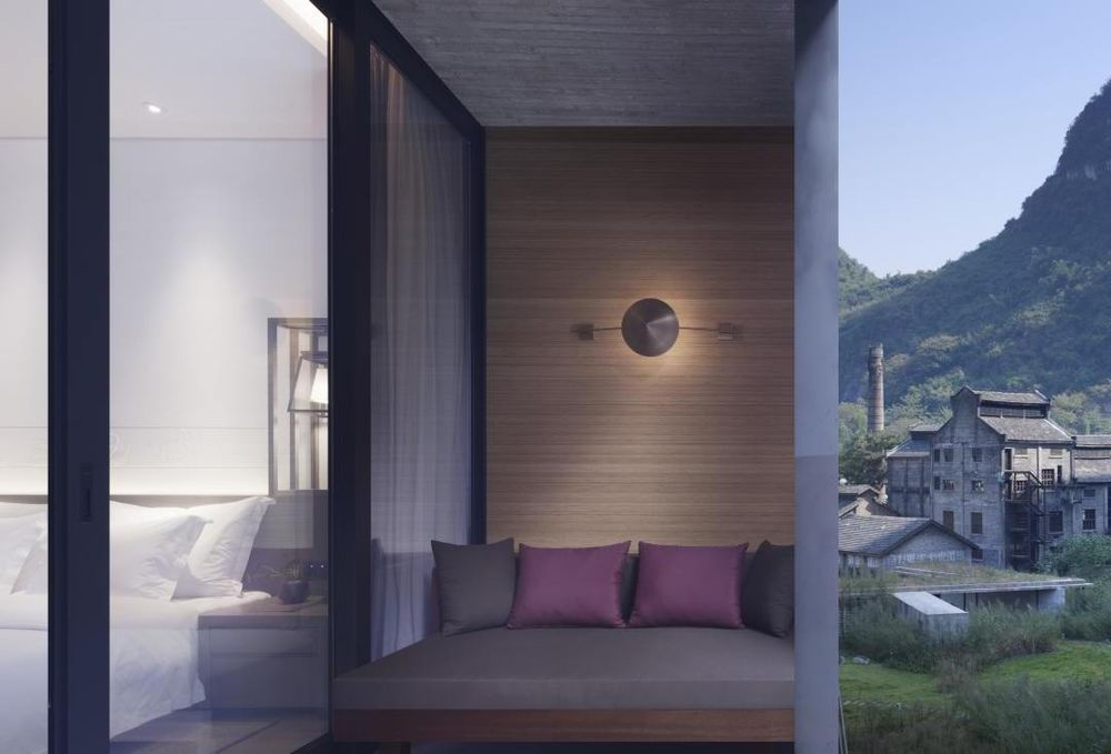 Suite, Alila Yangshuo Luxushotel, China Rundreise