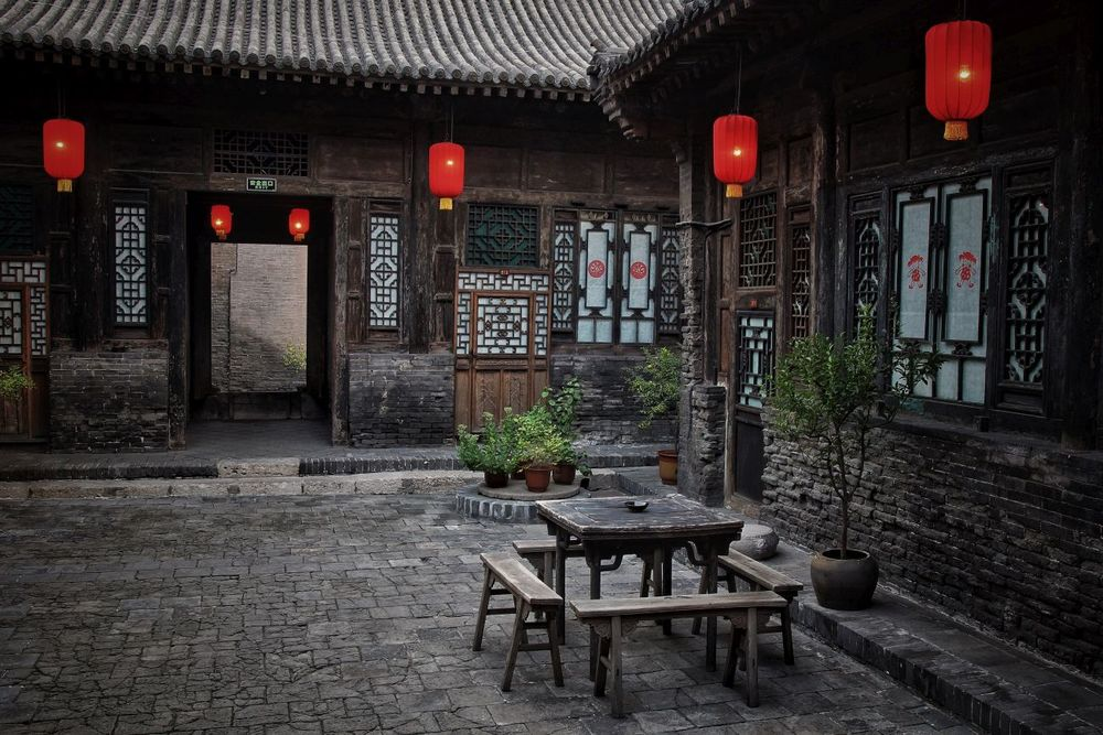Restaurant, Yide Hotel, Pingyao, China Reise