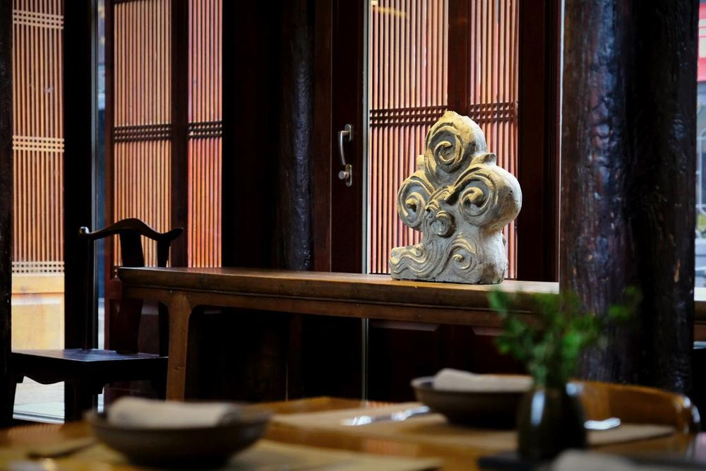 Restaurant, Jing's Residence Hotel, Pingyao, China Rundreise