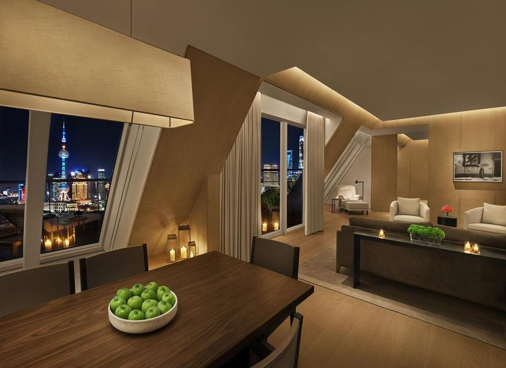 Suite, The Shanghai EDITION, China Rundreise